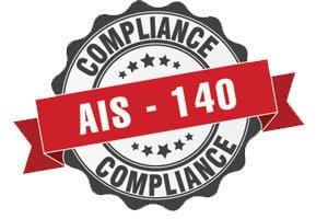 AIS 140 Logo
