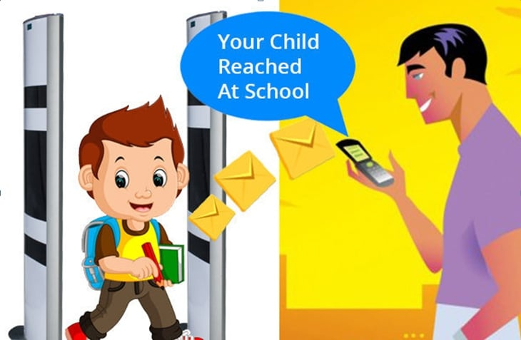 RFID Attendance system for school
