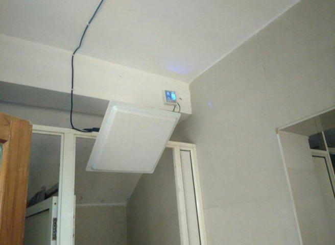 UHF In toilet