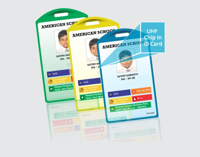 UHF in ID Card