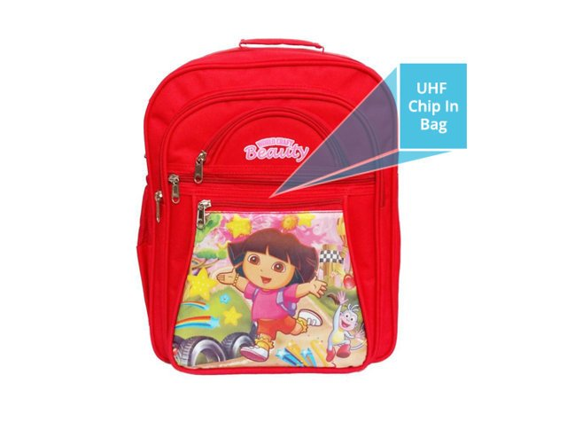 UHF in School bag