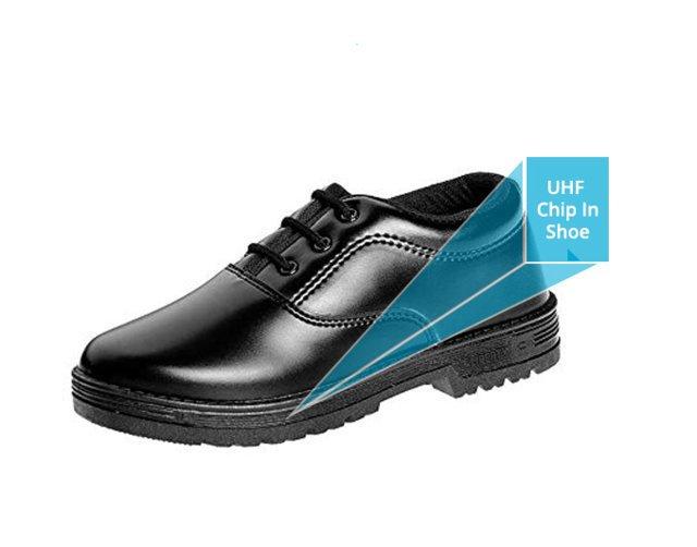 UHF in school shoe