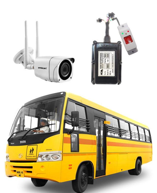 School Bus GPS Tracker with RFID
